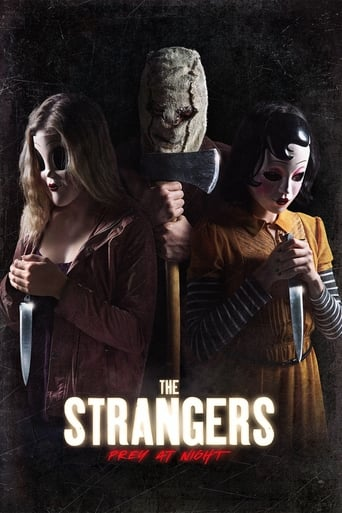 Poster of The Strangers: Prey at Night fragman