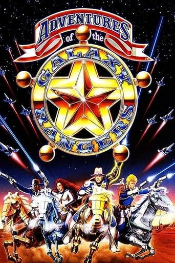 Poster of The Adventures of the Galaxy Rangers