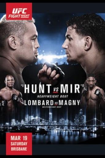 Poster of UFC Fight Night 85: Hunt vs. Mir