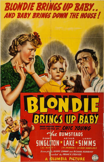 Blondie Brings Up Baby Movie Poster