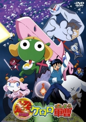 Poster of Sergeant Keroro The Super Duper Movie