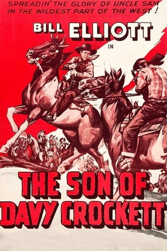 Poster of The Son of Davy Crockett