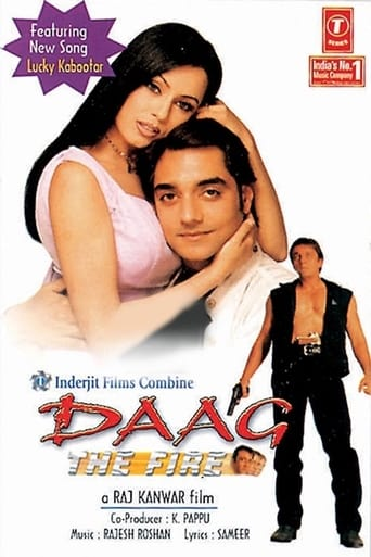 Poster of Daag: The Fire