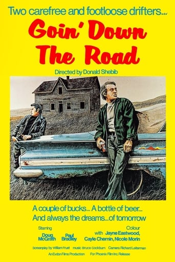 Poster of Goin' Down the Road