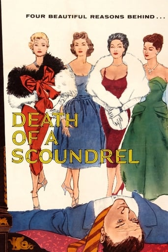 Poster of Death of a Scoundrel