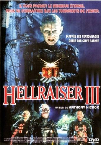 Poster of Hellraiser 3