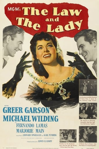 Poster of The Law and the Lady