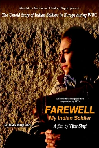Poster of Farewell, My Indian Soldier