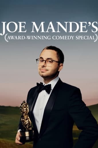 Poster of Joe Mande's Award-Winning Comedy Special