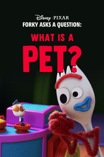 Poster of Forky Asks a Question: What Is a Pet?