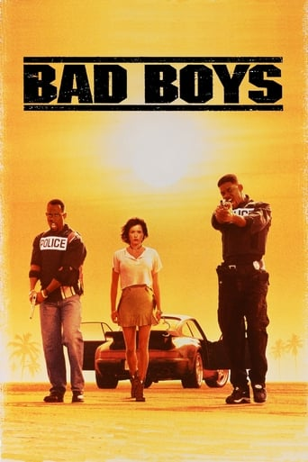 Official movie poster for Bad Boys (1995)