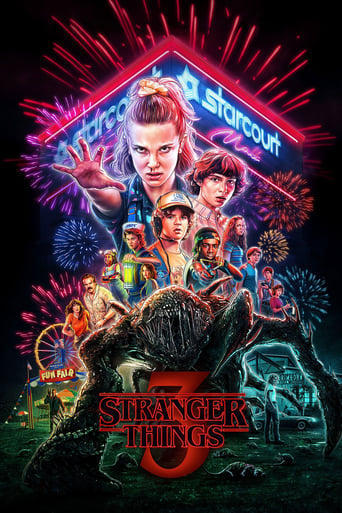 The poster of Stranger Things
