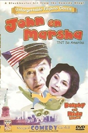 Poster of John En Marsha Tnt Sa Amerika
