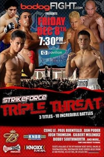 Poster of Strikeforce: Triple Threat