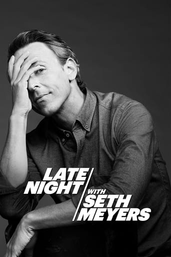 Poster Late Night with Seth Meyers
