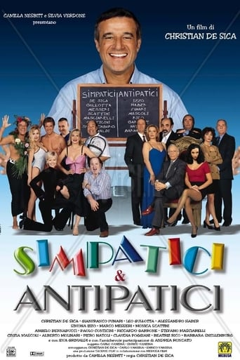 Poster of Simpatici & antipatici