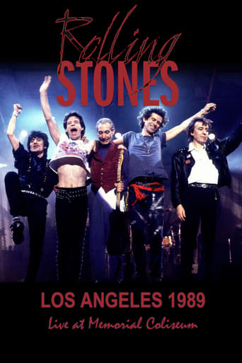 Poster of The Rolling Stones Los Angeles 1989