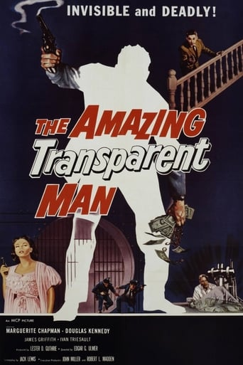 Poster of The Amazing Transparent Man
