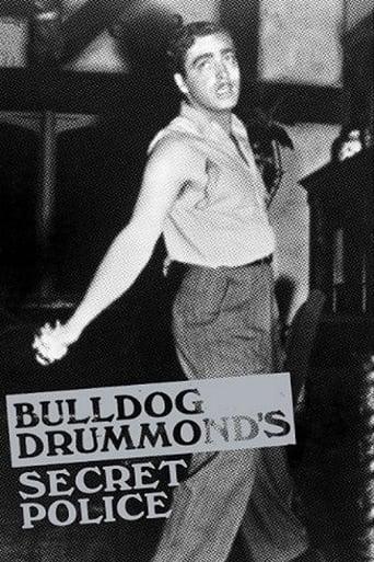 Poster of Bulldog Drummond's Secret Police