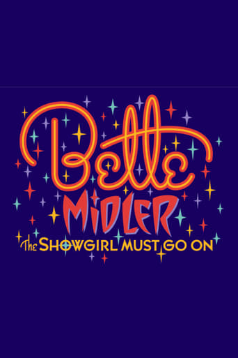 Poster of Bette Midler: The Showgirl Must Go On