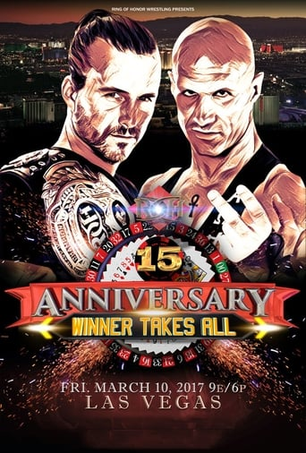 Poster of ROH 15th Anniversary
