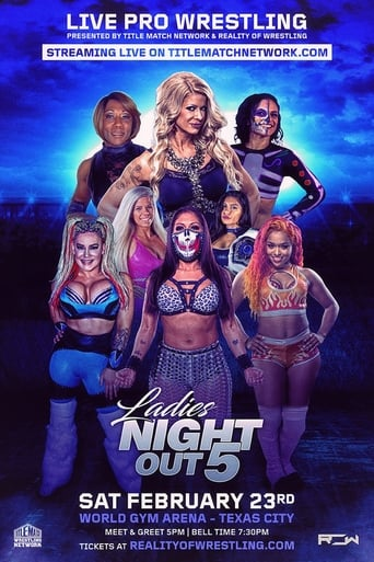 Poster of ROW Ladies Night Out 5