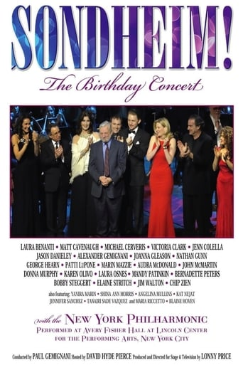 Poster of Sondheim! The Birthday Concert