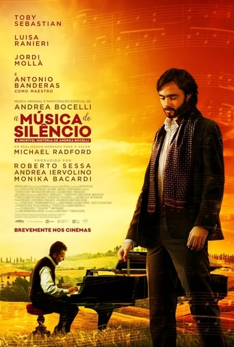 A Música do Silêncio - Poster