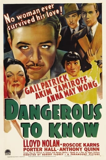 Poster of Dangerous to Know