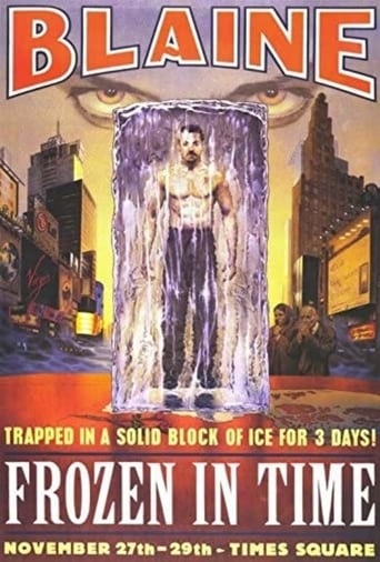 Poster of David Blaine: Frozen in Time