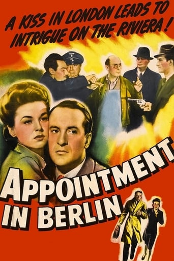 Poster of Appointment in Berlin