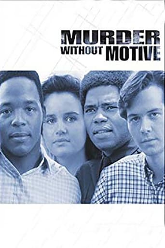 Poster of Murder Without Motive: The Edmund Perry Story