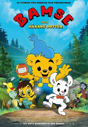 Poster of Bamse and the Witch's Daughter
