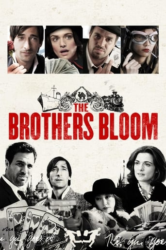 Official movie poster for The Brothers Bloom (2008)