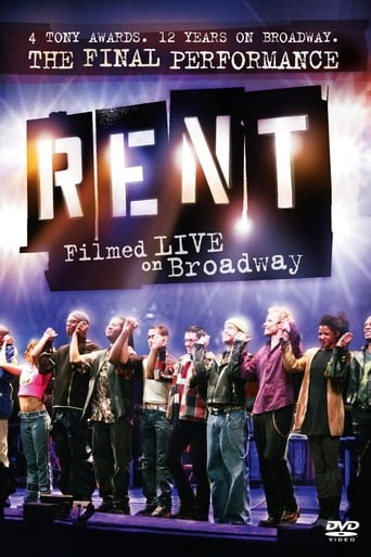 Poster of Rent: Filmed Live on Broadway