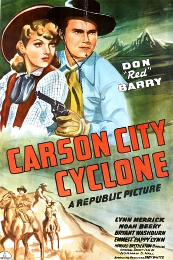 Watch Carson City Cyclone Free Movie Online
