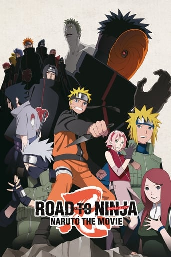 Poster of Naruto Shippuden the Movie Road to Ninja
