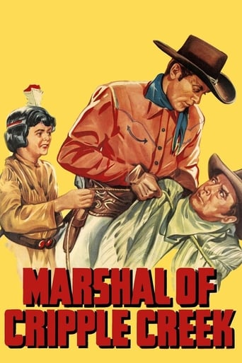 Poster of Marshal of Cripple Creek