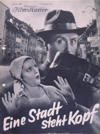 Poster of Eine Stadt steht kopf