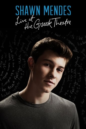 Poster of Shawn Mendes: Live at the Greek Theatre