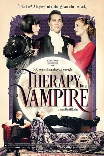 Poster of Therapy for a Vampire