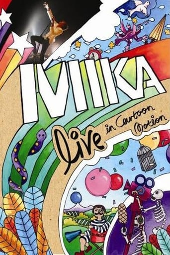 Poster of MIKA : Live in Cartoon Motion