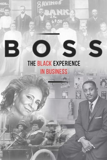 Poster of BOSS: The Black Experience in Business
