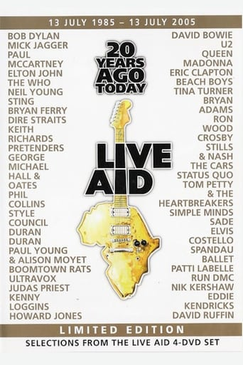 Poster of 20 Years Ago Today - Live Aid