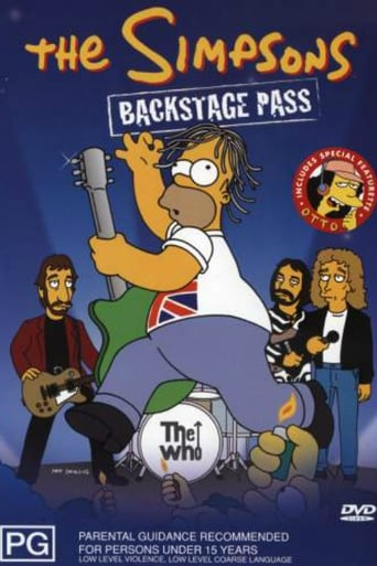 The Simpsons: Backstage Pass Movie Poster
