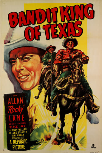 Poster of Bandit King of Texas