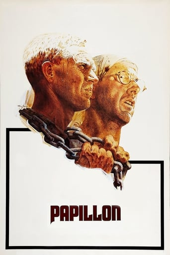 Official movie poster for Papillon (1973)