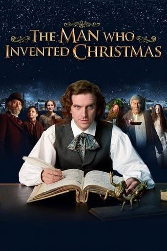 Poster of The Man Who Invented Christmas