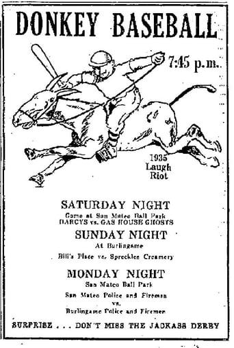 Poster of Donkey Baseball