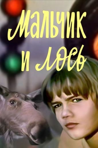 The Boy and the Moose Movie Poster